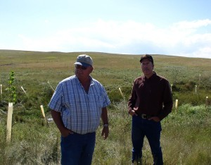 John-Hetzel-and-Bill-Chase-touring-Cottonwood-Project